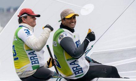 Lars e Samuel são vice-campeões europeus da Classe Star