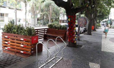 Primeiro parklet de Niterói entra em funcionamento em Icaraí