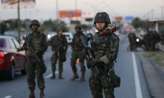 Tropas federais vão reforçar a segurança no segundo turno