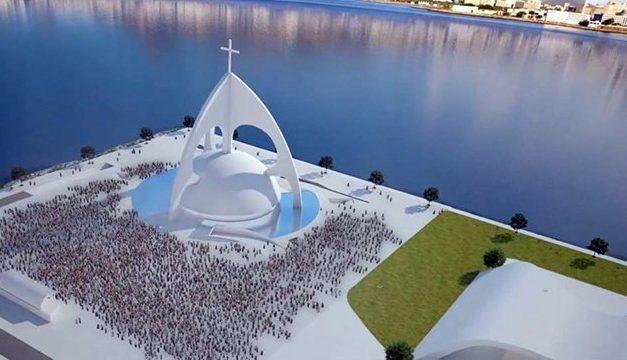 Nova Catedral São João Batista tem fundações concluídas