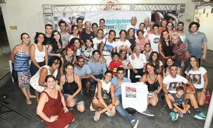 Rodrigo Neves recebe apoio de personalidades em ato em sua defesa