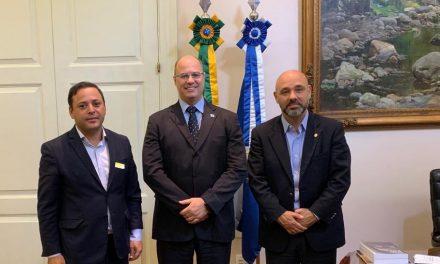 Rodrigo Neves se reúne com Witzel para firmar parcerias