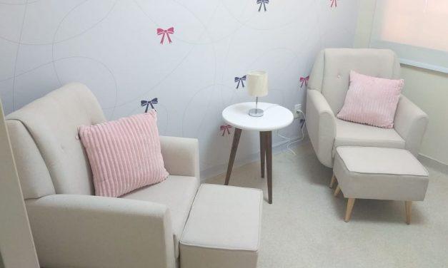 CHN inaugura consultório de amamentação
