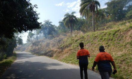 Equipes da Defesa Civil intensificam ronda preventiva contra queimadas