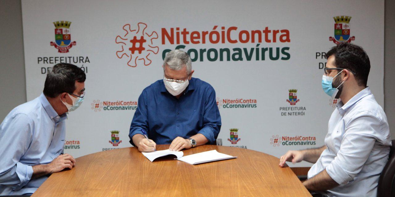 Niterói assina contrato para compra de 800 mil doses da vacina Sputnik V