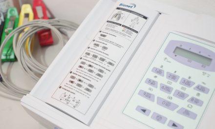 Saúde adquire novos aparelhos para eletrocardiograma