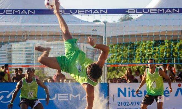 Niterói recebe 6ª etapa do Circuito Brasileiro de Futevôlei