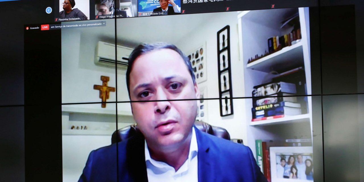 Rodrigo Neves discute cooperação internacional contra a Covid-19