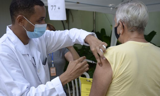 Segunda dose de CoronaVac está suspensa em Niterói