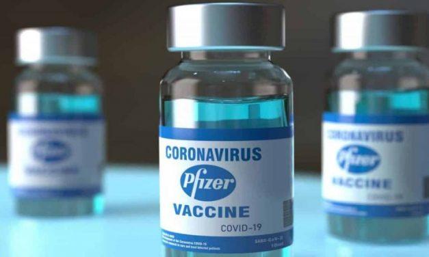 Doses da vacina Pfizer começam a ser aplicadas esta semana
